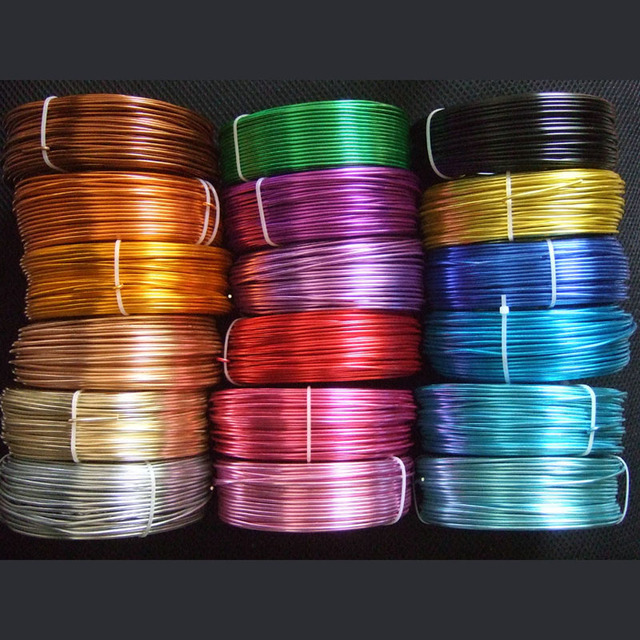 5 meters 2mm diameter aluminum wire 12 gauge soft metal floristry 5 meters 2mm diameter aluminum wire 12 gauge soft metal floristry wire for diy jewelry findings keyboard keysfo Images