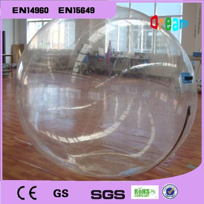 Frete grátis 2m bola de bolha de água inflável água andando bola balões de água bolas gigante inflável anti stress bola - 4