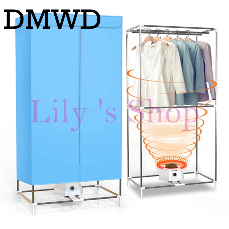 Online Shop DMWD Electric Clothes Dryers Household Folding Warm Wind Drying  Wardrobe Portable Laundry Garment Rack Sterilization Dryer EU US |  Aliexpress ...