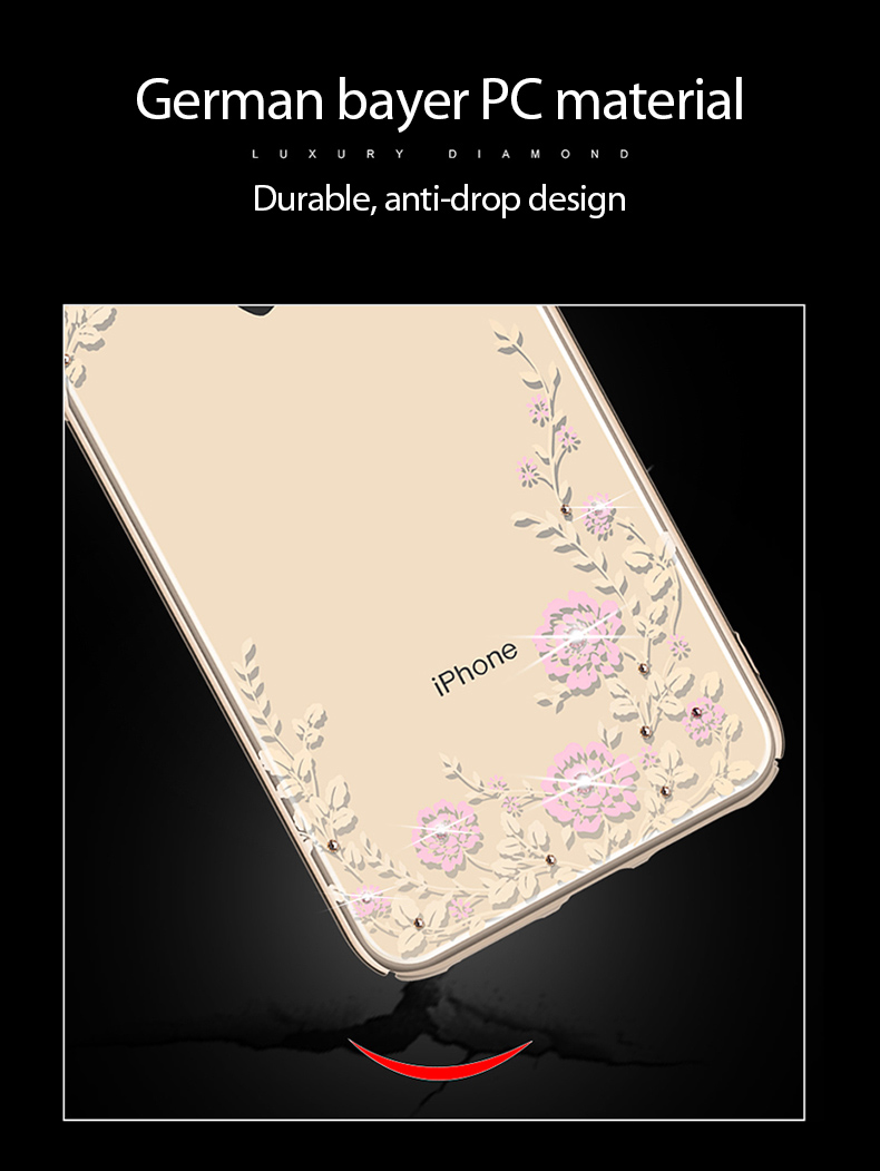 KINGXBAR Case for iPhone Xs Case Gorgeous for iPhone Xs Max Cover Luxury for iPhoneXs Cover Transparent Crystals from Swarovski  (7)