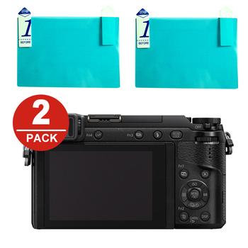 2x ochraniacz ekranu LCD folia ochronna do Panasonic GH5 GH5s GH4 GX9 GX8 GX7 Mark III G9 G8 GX85 GX80 g85 G80 GF9 GF8 GX800 tanie i dobre opinie DEJ-LCP-GX80 NoEnName_Null Kamera To Fit GX80