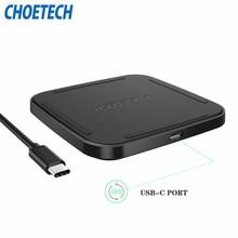 [USB Type C Sans Fil De Charge Pad] CHOETECH Qi Chargeur Sans Fil avec livraison USB-C Câble Rapide pour Samsung Galaxy Note 7, S7, S7 Bord