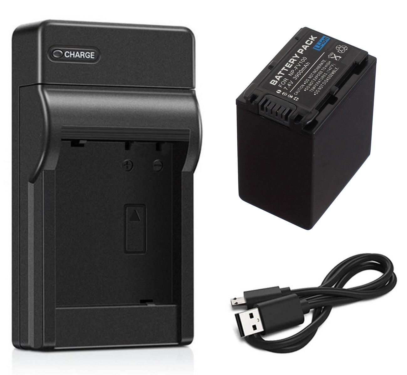 Batería de repuesto para Sony handycam hdr-cx210e np-fv50