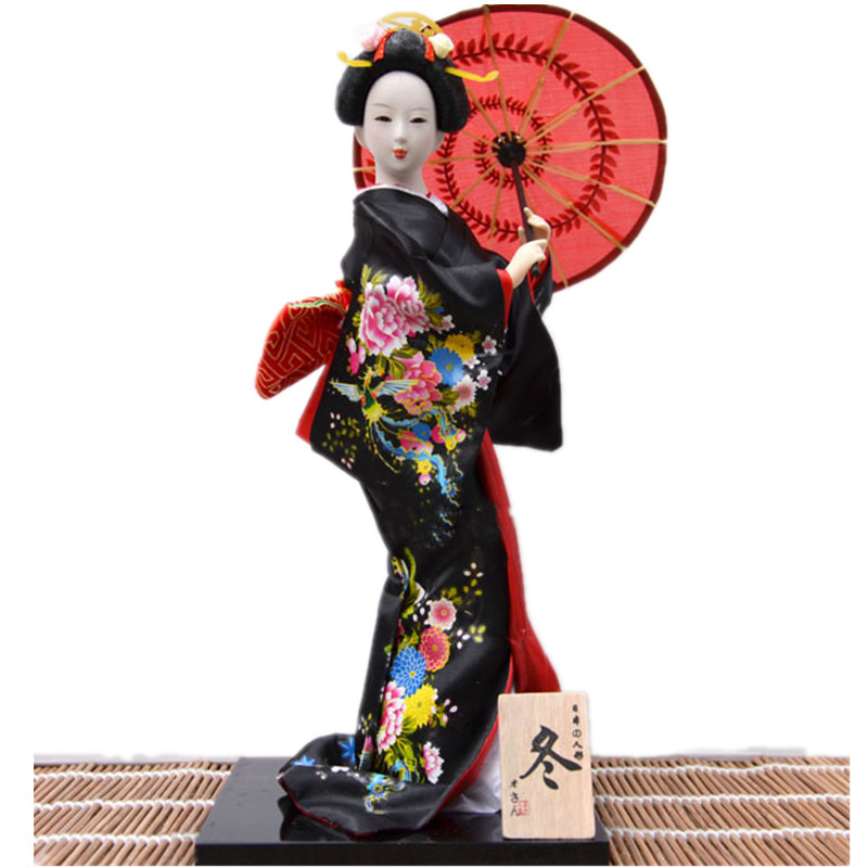 Free shipping  Dolls kimono lady doll decoration creative gifts wedding favors and souvenirs
