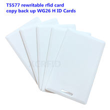 Rfid 125 кГц t5577 перезаписываемый 18 мм Толщина карты копир