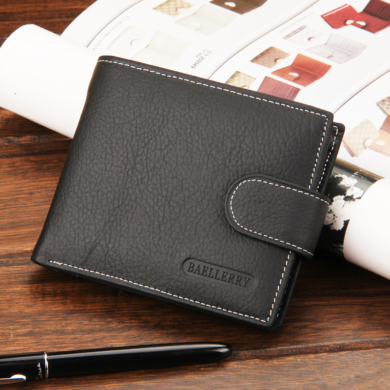 Men wallets Fashion famous brand genuine leather wallet hasp design wallets with coin pocket purse card holder for men carteira fashion men wallets famous brand genuine leather wallet hasp design wallets with coin pocket purse card holder for men carteira