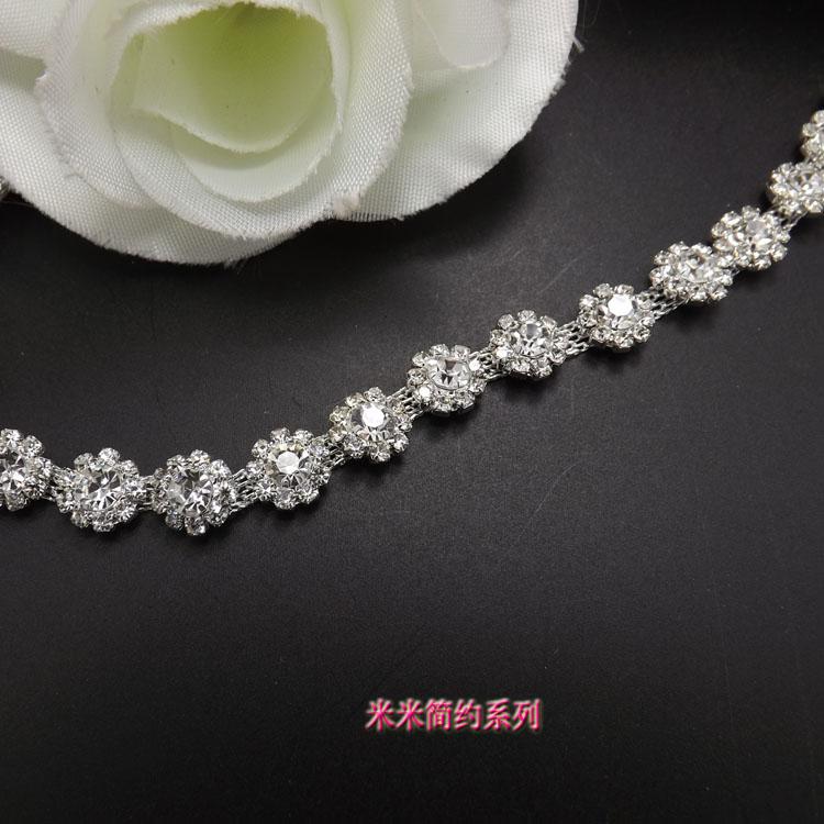 crystal rhinestone decorative chain 6a9e46c40785
