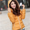 New Arrival Fashion 2016 Solid Warm Vintage Casual Office Slim Long Sleeve Winter Coats Women Jacket