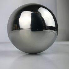 Блестящий блестящий шар из нержавеющей стали, зеркальные шары, товары для украшения дома и сада, украшение 50 мм-150 мм
