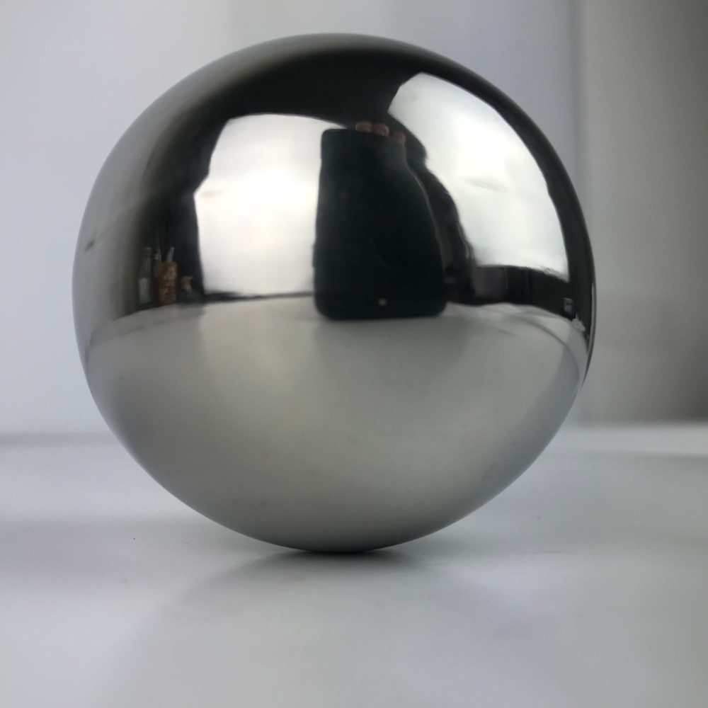 High Gloss Glitter Stainless Steel Ball Sphere Mirror Solid Balls Home Garden Decoration Supplies Ornament 50mm-150mm