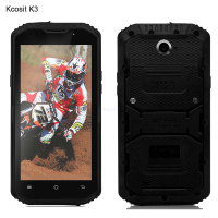 Original Kcosit K3 ultra slim Phone Rugged Waterproof Shockproof Android 5.1 Mobile Phone 5.5