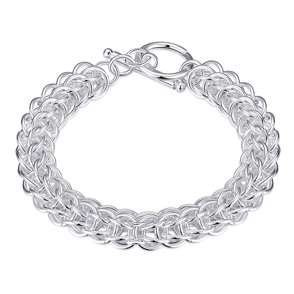 Full circle hand chain round silver chain chain H016