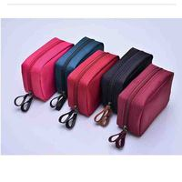 Elegant Style Women S Small Portable Cosmetic Bag Korean Women Men Organizer Storage Makeup Travel Duffel