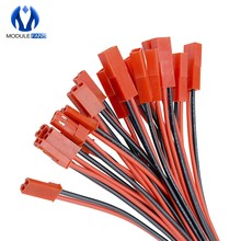 10 Pairs 100mm 10cm JST Man Vrouw Connector Plug Kabel Voor RC BEC Batterij Helikopter DIY FPV Drone quadcopter(China)