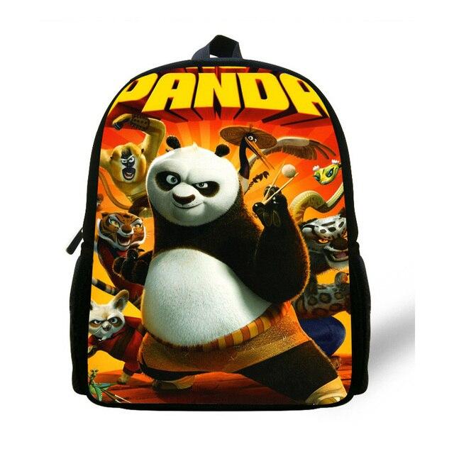 12 Inch Kung Fu Panda Dos Desenhos Animados Saco Mochila