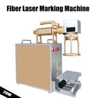 Handheld Raycus MAX Fiber Laser Marking Machine 20W 30W Laser Engraving Engraver Machine For Metal & Non Metal