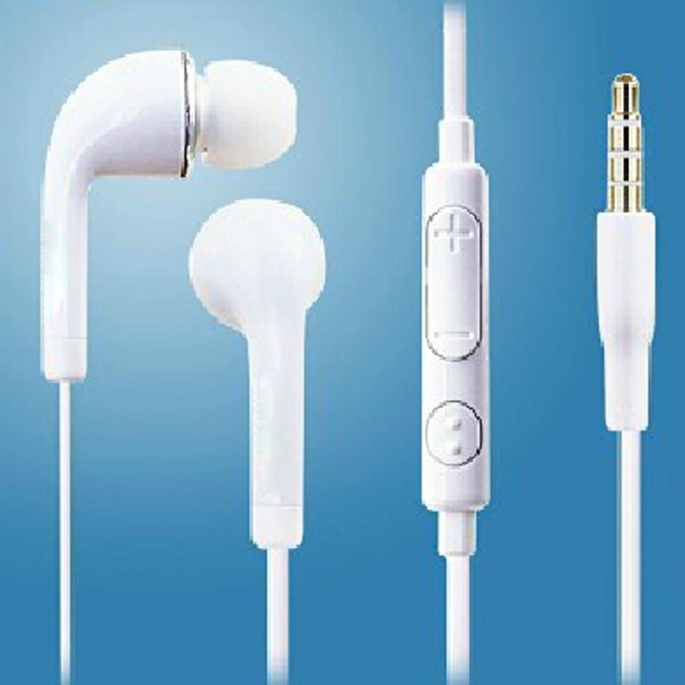 Wired headset auricular mic del auricular de 3.5mm jack estéreo estándar fond de