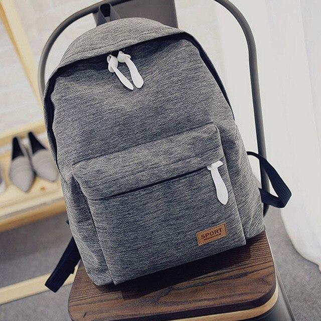 Korea Style Fashion Backpacks for Men and Women waterproof Preppy Style Soft BackPack Unisex School Bags big capacity Bag XA893B