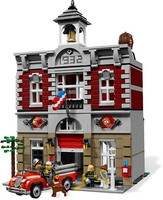 LEPIN 15004 City Street Creator Fire Brigade Model Building Kits Block Kid 2313Pcs Bricks Compatible With