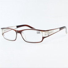 a6a9756d95 Buy fashion square reading glasses womens and get free shipping on  AliExpress.com