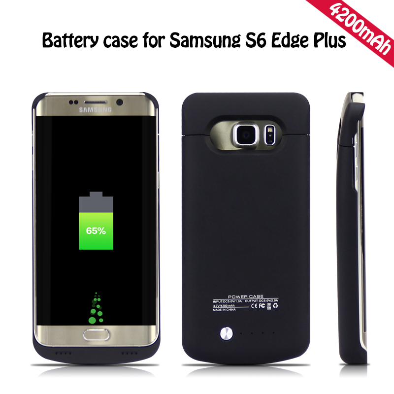 brand new 4784b a494a US $29.97  YOTEEN Extended 4200mAh Power Case For Samsung Galaxy S6 S6 edge  Battery Case for Samsung S6 edge Plus Powerbank Charge Cover-in Battery ...