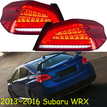 WRX do farolim traseiro 2013 2014 2015 2016 LED Cauda como Vire Tail Light Turn Signal Módulo wrx nevoeiro luz