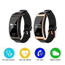 CK11S Смарт часы браслет cicret Relogio монитор сердечного ритма крови Давление кислорода для телефона Android Сяо mi Группа 2