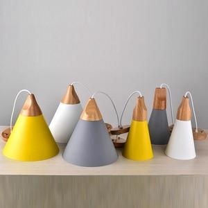 Image 4 - LukLoy Modern Pendant Ceiling Lamps Loft for The Kitchen Led Pendant Lights Hanglamp Hanging Light Fixture Nordic Luminaire