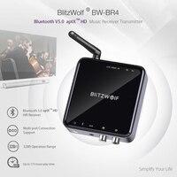 BlitzWolf 5.0 Wireless Bluetooth Receiver 3.5MM Aux receiver Audio Music Receiver Bluetooth Audio Adapter Car Aux Receiver