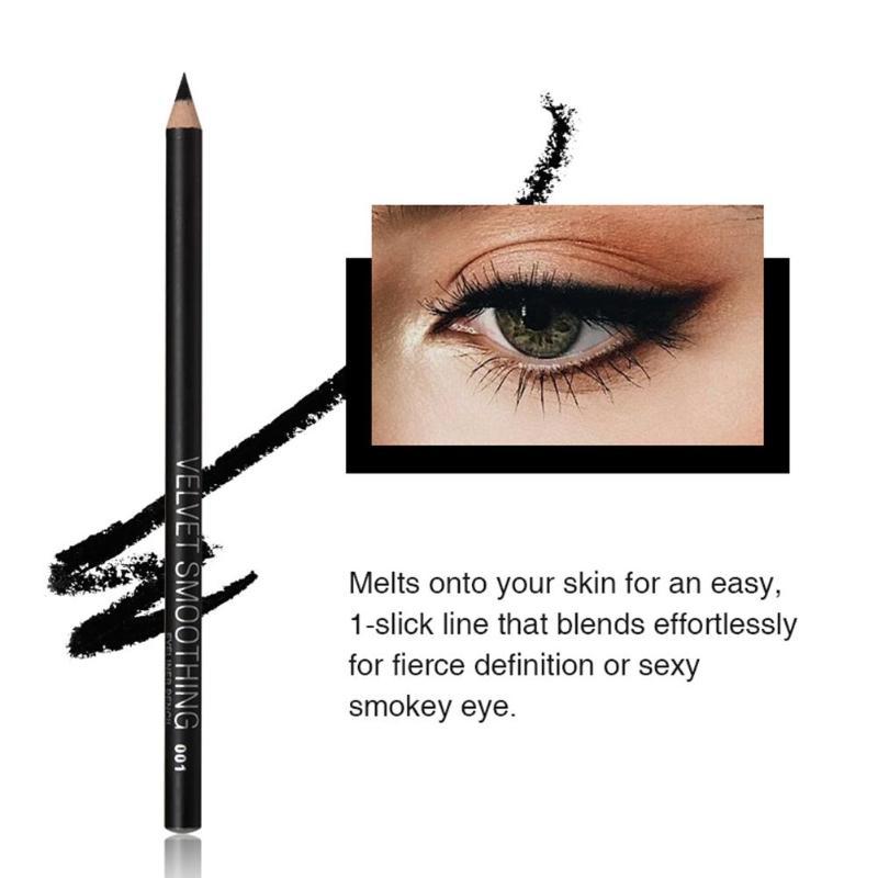 12pcs/set Black Waterproof Liquid Eyeliner Make Up Beauty Comestics Not Blooming Long-lasting Eye Liner Pencil Makeup Tools
