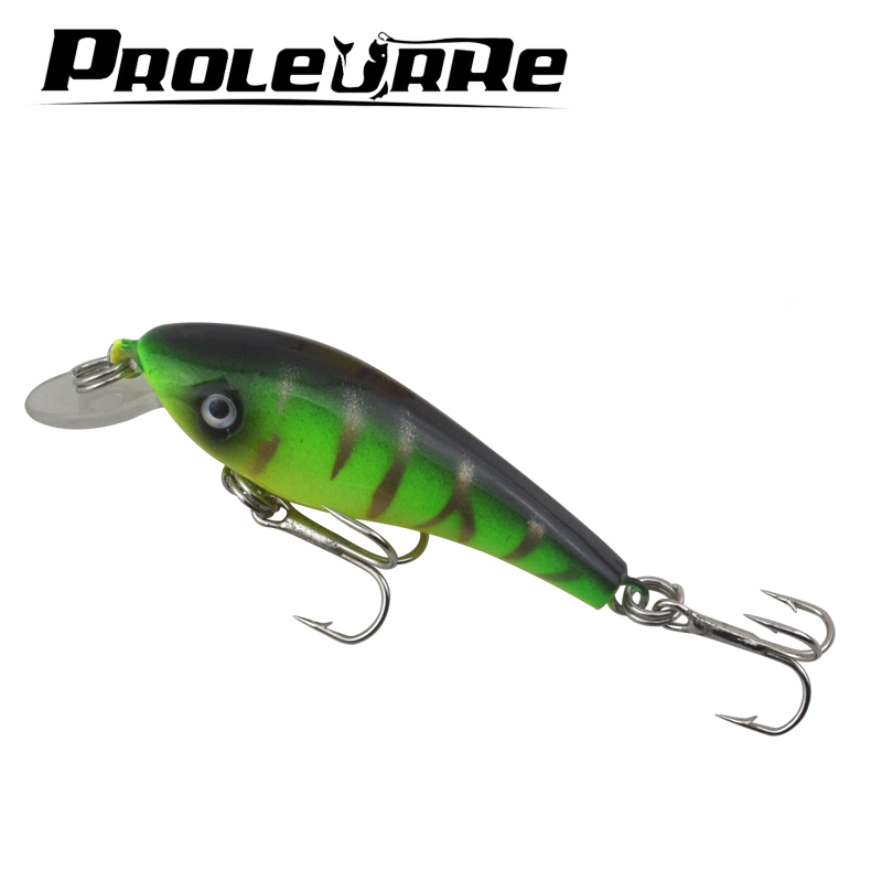 Proleurre 1pcs Swim Fish Fishing Lure 5.7cm 4.5 g Artificial Hard Crank Bait topwater Wobbler Japan Mini Fishing Crankbait lure 1pcs swim fish top water wobbler fishing