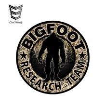 EARLFAMILY, 12 см x 12 см, Bigfoot, исследовательская команда, камуфляжная наклейка, Sasquatch Yeti, автомобиль, грузовик, окно, забавные автомобильные наклейки, наклейка s