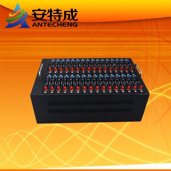 SIMCOM sim5216 hot selling wcdma gprs modem bulk sms sening 32 sim cards slot modem 3g