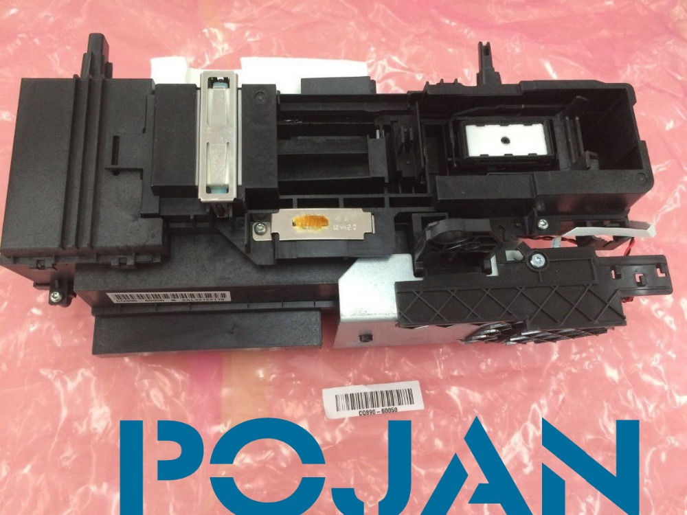 Brand new Cq890-67045 CQ893a for Designjet T520 T120 Service Station Assembly Free shipping Plotter parts new cq890 67028 ink door sensor card for designjet t520 t120 24 36 genuine free shipping printer plotter parts