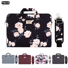 MOSISO Canvas Laptop Bags For Women 13.3