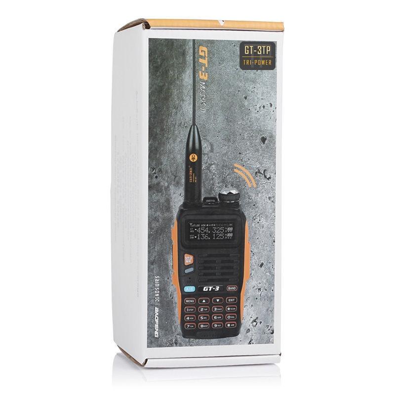 Baofeng GT-3TP MarkIII TP 1/4 / 8Watt High Power Dubbelband 2M / 70cm - Walkie talkie - Foto 5