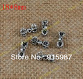 Sweet Bell Free shipping  50pcs/lot 18*8mm Vintage accessories DIY accessories silver accessories wholesale vajra pendant