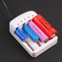 4 Output Hoge Kwaliteit Originele Universele I4 Intelligente Li Ion/Nimh Voor 26650 18650 14500 10440 Aa Aaa Etc Batterij lader