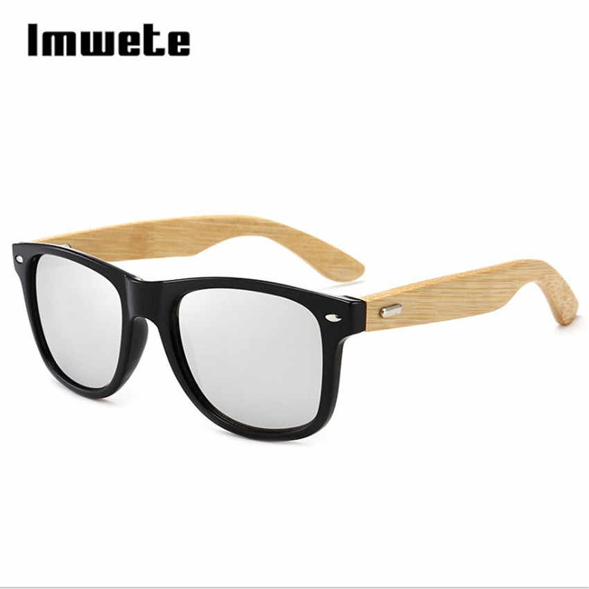 99d8584512665 ... Retro Wood Sunglasses Men Women Vintage Bamboo Sunglass Brand Design  Sport Goggles Blue Gold Mirror Wooden ...