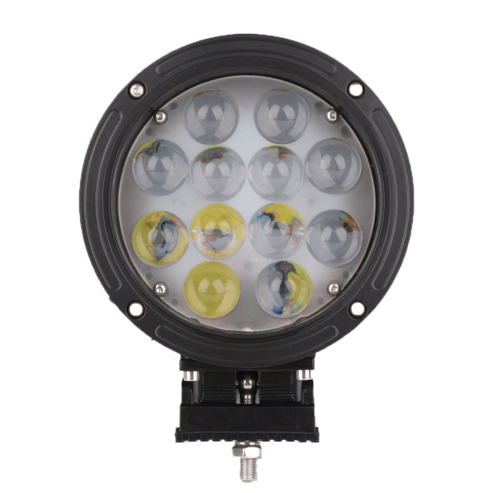 7 Inch 60W LED Work Light Floodlight 12V 24V Round LED Offroad Light Lamp Worklight for Off road Motorcycle Car Truck Hot ninjagoeinglys cole jay cole zane lloyd sensei wu nya lloyd nadakhan dogshank building blocks toys compatible with legoeinglys