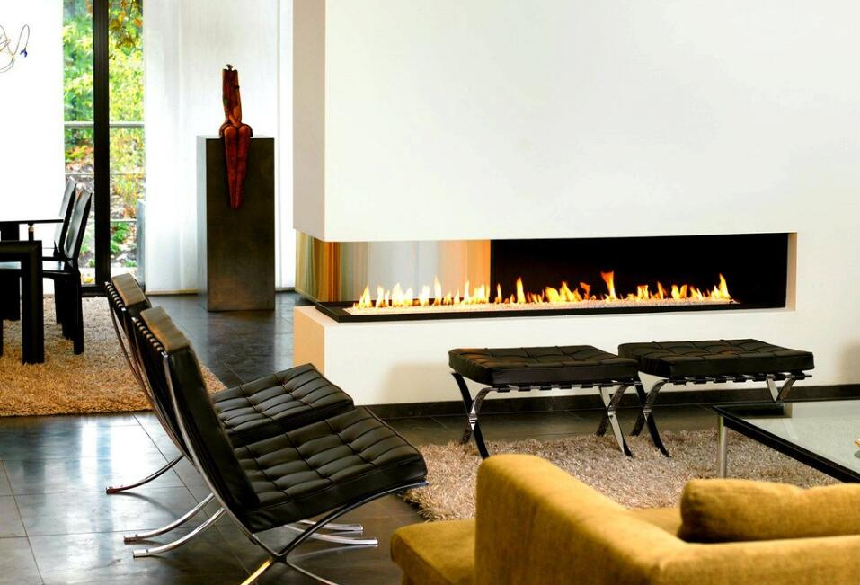 On Sale 36' Ethanol Fireplace With Stainless Steel Burner 8.5L