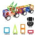 ¡ CALIENTE! 32 unids/lote camión modelo de construcción bloques de construcción de juguetes diy 3d diseñador magnético magnético de ladrillos educativos regalos de año nuevo