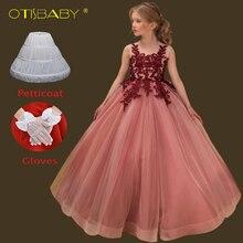 0143fe8380a Boutique Floral filles élégantes Communion robes âge 12 13 14 15 ans  adolescents sans manches de
