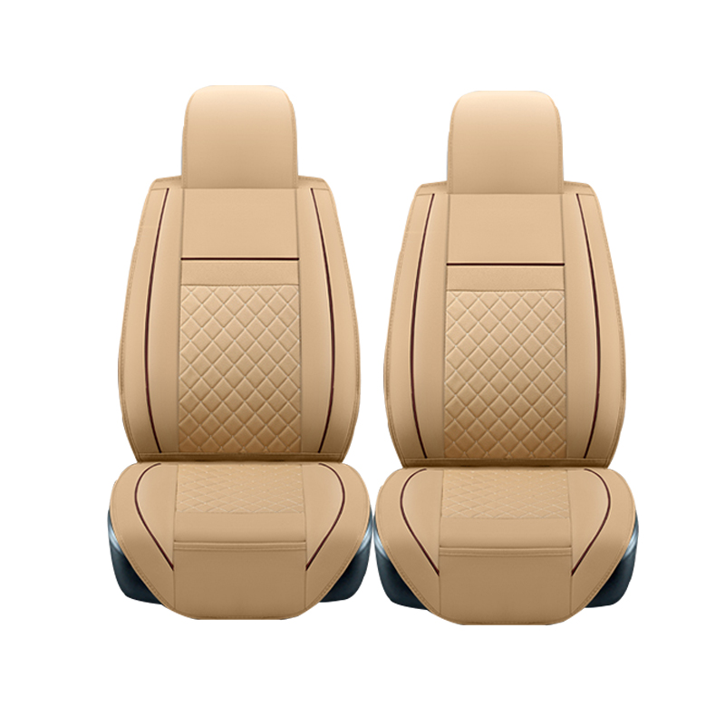 2pcs Leather car seat covers For Geely Emgrand EC7 X7 FE1 seat covers auto accessories car-styling high quality car seat covers for lifan x60 x50 320 330 520 620 630 720 black red beige gray purple car accessories auto styling