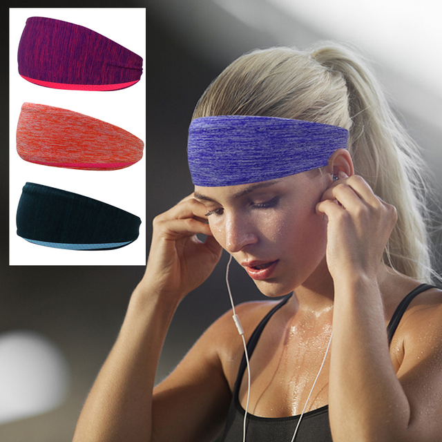 572d36a7eb68 Stretchy Sweatbands Headbands Tenis Sports Multi-function Athletic  Breathable Fitness Antiperspirant bands For Men Women