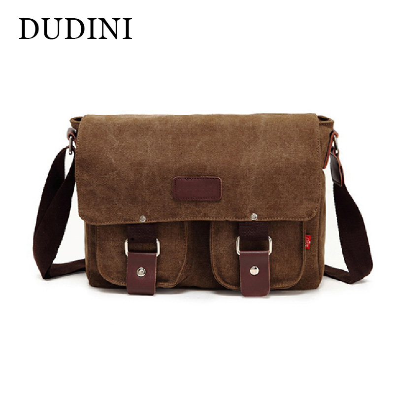 DUDINI Canvas Bags Vintage Messenger Bags Men's Shoulder Bag Multifunctional Casual Fashion School Bags Men Crossbody veevan canvas women messenger bags fashion shoulder bag vintage crossbody bags for girls female casual school bag travel handbag