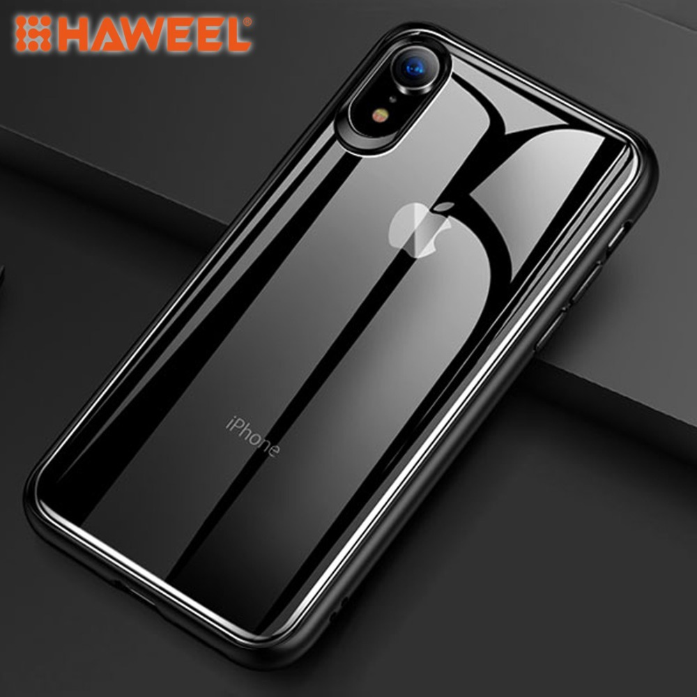 HAWEEL Ultra-thin TPU + PC + Mirror Case for iPhone X / XS  iPhone XR iPhone XS MAX iPhone XS