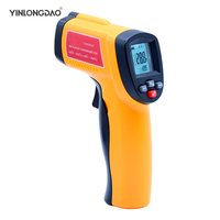 YINLONGDAO Digital thermometer gun non contact infrared thermometer temperature gun ir thermometer industrial GM320~GM900