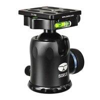 Sirui мини 360 Угол панорамного вращения Pro шаровой головкой штатив PTZ для SLR Камера UniPod монопод Штатив панорамирование вращающийся k30x