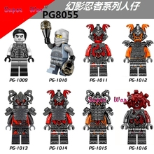 Masters of Spinjitzu 1 pcs star wars super-heróis Ninja Cobra corps hobby modelos blocos de construção tijolos brinquedos para crianças kits